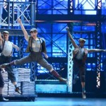 Cast of Newsies at the 66th Annual Tony awards in New York